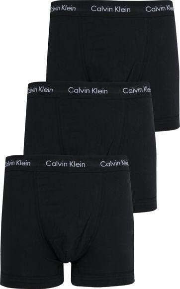 Calvin Klein Boxershorts 3-Pack Black