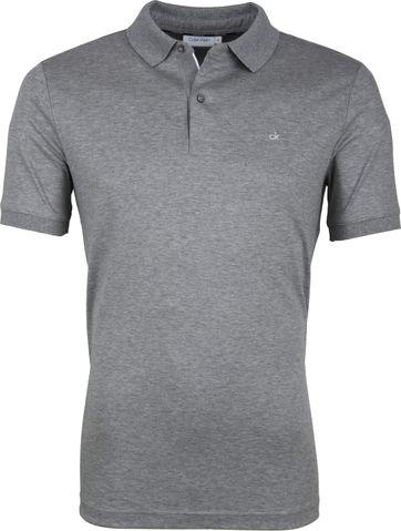 Calvin Klein Grau Poloshirt