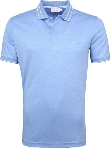Calvin Klein Polo Lichtblauw