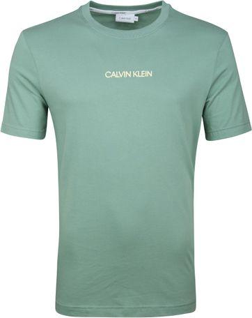 Calvin Klein T-Shirt Logo Mint Groen