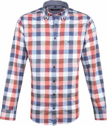 Casa Moda Casual Shirt Multi-colour Squares