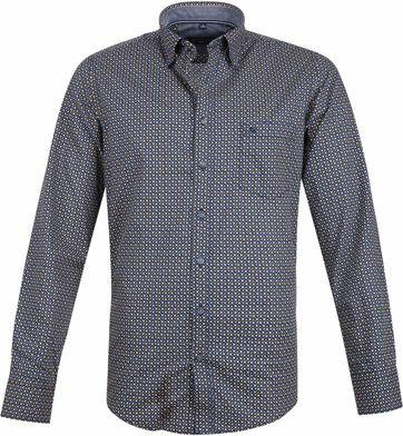 Casa Moda Casual Shirt Navy Dots