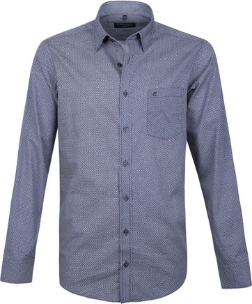 Casa Moda Overhemd Blauw