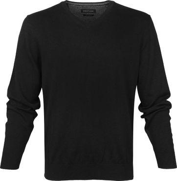 Casa Moda Schwarz Pullover