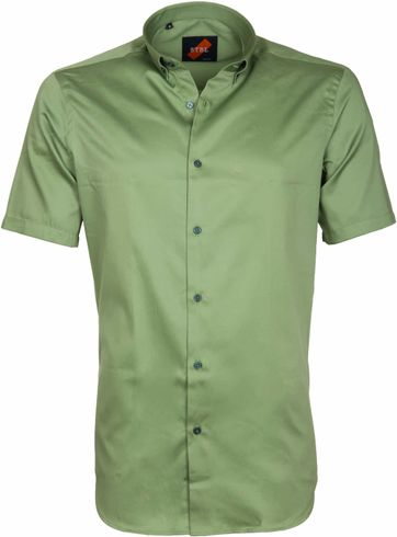 Casual Hemd Basic Grün