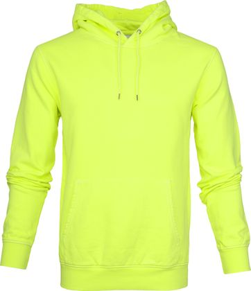 Colorful Standard Hoodie Neon Yellow