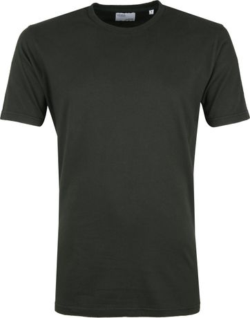 Colorful Standard Organic T-shirt Donkergroen