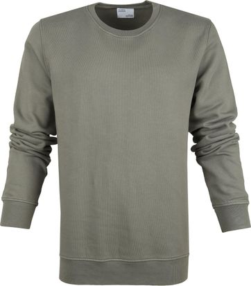 Colorful Standard Sweater Organic Olive