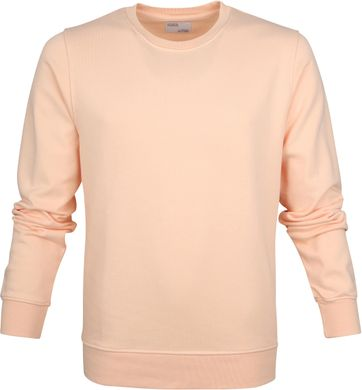 Colorful Standard Sweater Pastel Oranje