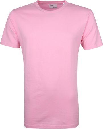 Colorful Standard T-shirt Flamingo Roze
