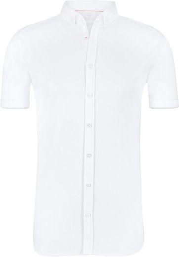 Desoto Overhemd Korte Mouw Wit