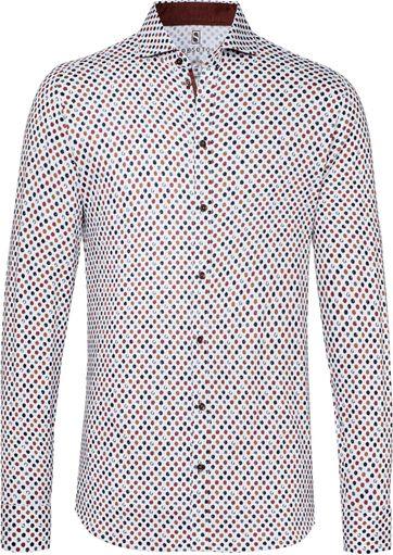 Desoto Overhemd New Hai Stippen