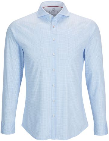 Desoto Shirt Non Iron PDP Blue