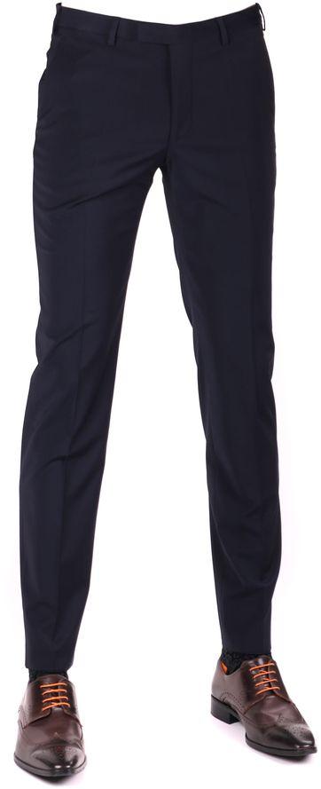 Digel Apollo Pantalon Donkerblauw Stretch