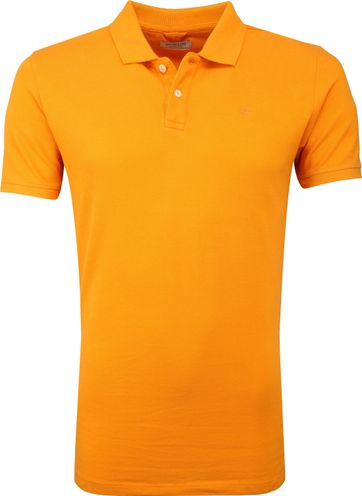 Dstrezzed Bowie Poloshirt Bright Orange