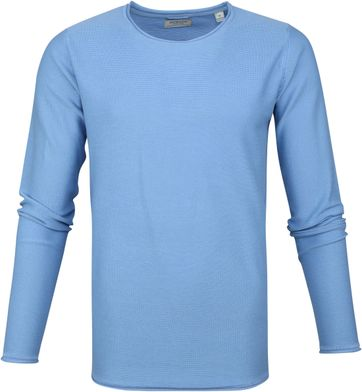 Dstrezzed Cooper Acid Sweater Light Blue