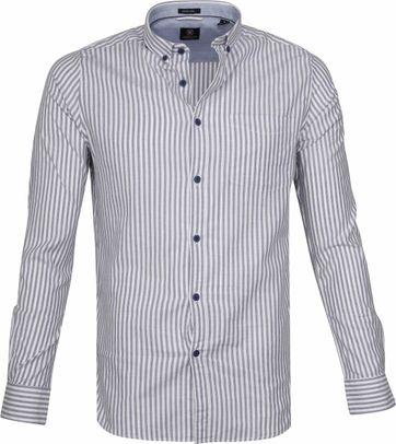 Dstrezzed Hemd Twin Stripe Blau