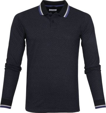 Dstrezzed LS Polo Honey Comb Navy
