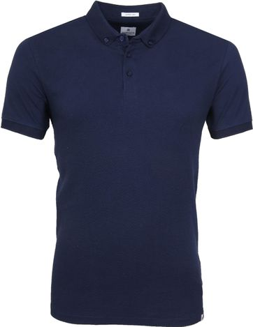 Dstrezzed Polo Honeycomb Navy