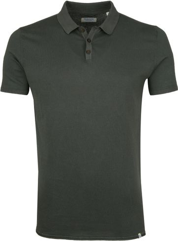 Dstrezzed Poloshirt Acid Dunkelgrün