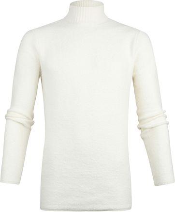 Dstrezzed Rollkragenpullover Off-White