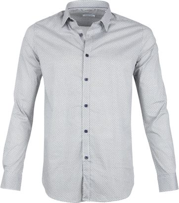 Dstrezzed Shirt Dessin Weiß