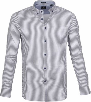 Dstrezzed Shirt Twin Stripe Blue