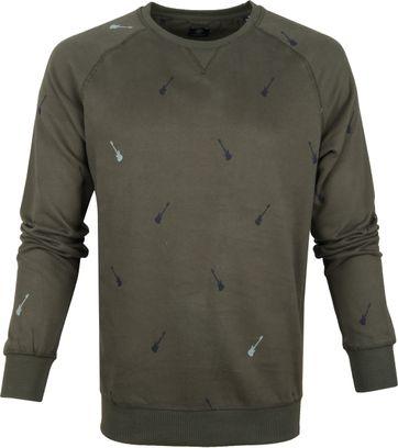 Dstrezzed Sweater Crew Peached Army