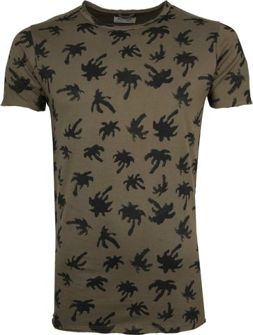Dstrezzed T-shirt Donkergroen