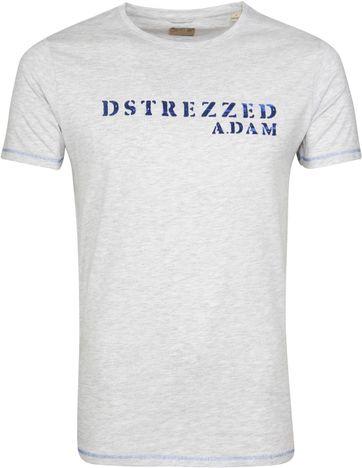 Dstrezzed T-shirt Grau Melange