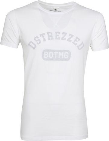 Dstrezzed T-shirt Logo Weiß