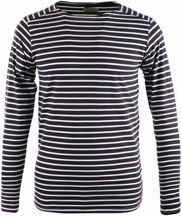 Dstrezzed T-shirt mit langen Ärmel Dunkelblau Streifen