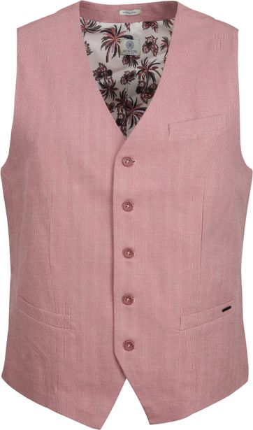 Dstrezzed Waistcoat Tic Tac Pink