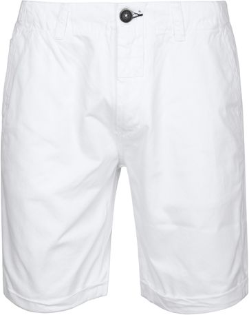 Dstrezzed Wayne Shorts White