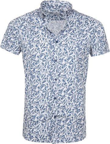 Dstrezzed Wild Leave Shirt Blue