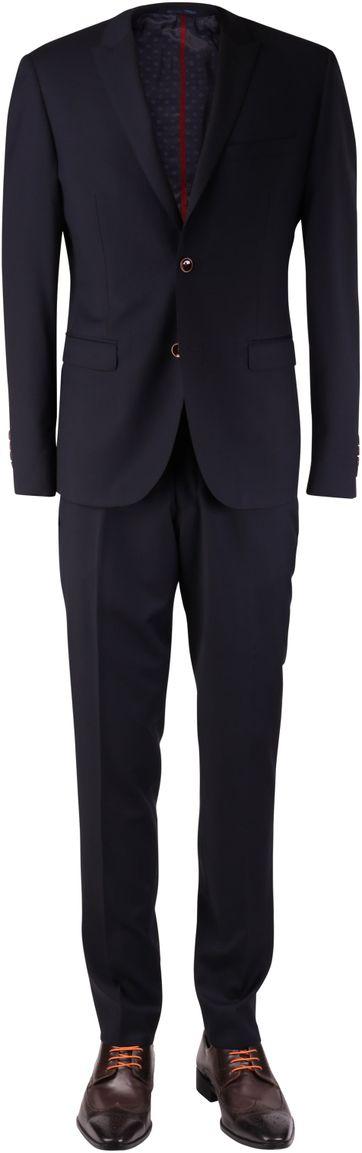 Dunkelblau Anzug Kennedy