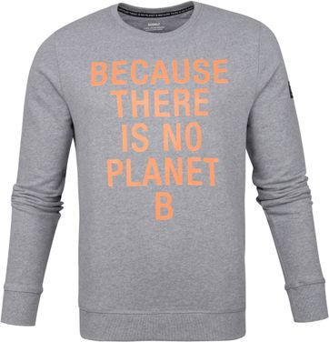 Ecoalf San Diego Sweater Hellgrau