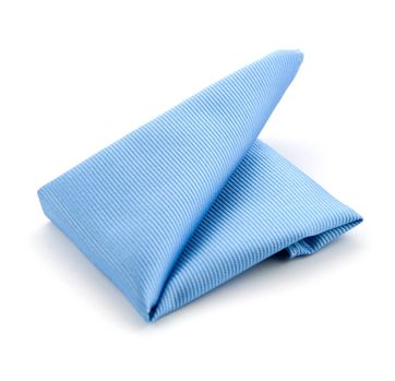Einstecktuch Seide Hellblau F02