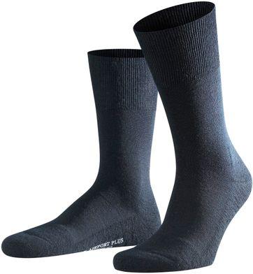 FALKE Airport PLUS Socken Navy 6370