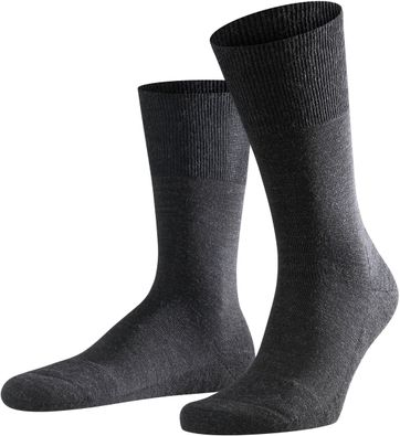 Falke Airport PLUS Socks Asphalt 3080