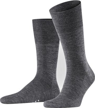 FALKE Airport Socken Asphalt 3180