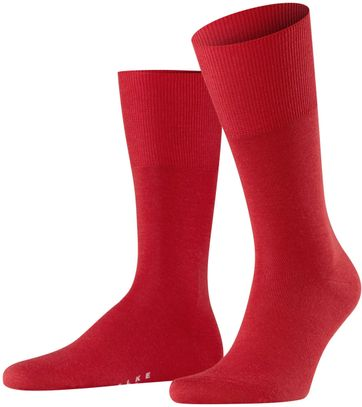 Falke Airport Socks Red 8120