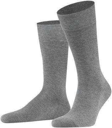 FALKE Family Socken Grau 3390