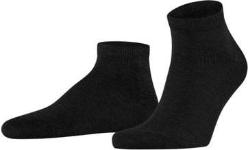 Falke Happy Socks 2 Pair Black