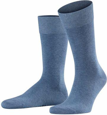 Falke Happy Sokken 2 Paar Blauw Melange