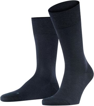FALKE Sensitive Socken Berlin Navy 6370