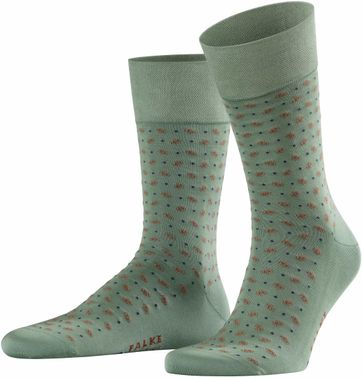 Falke Sock Sensitive Jabot Green