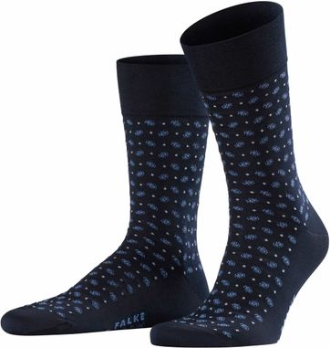 Falke Sock Sensitive Jabot Navy