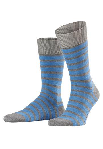 Falke Socken Grau/Blau