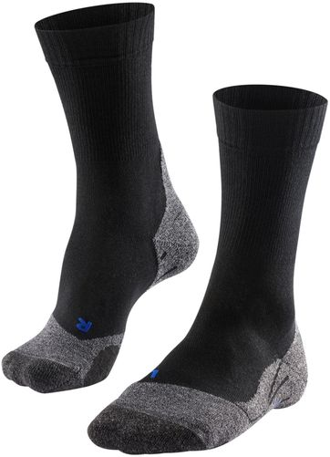 FALKE TK2 Cool Men Trekkingsocken Schwarz